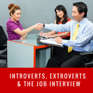 extroverts and introverts job interview